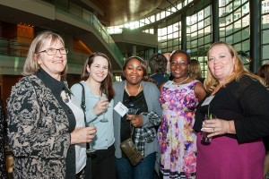 Partygoers at Nurses Recognition Banquet