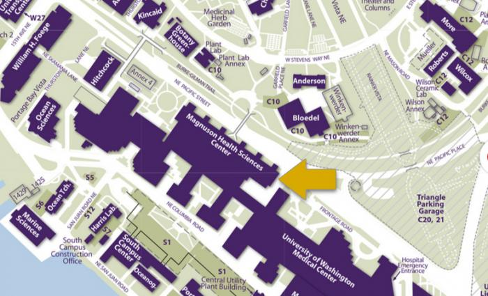 Health Sciences Building map