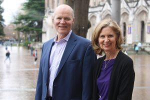 Brooks Simpson and Joanne Montgomery