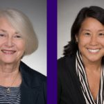 Nancy Woods and Carolyn Chow