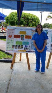 Student Yvette Rodriguez